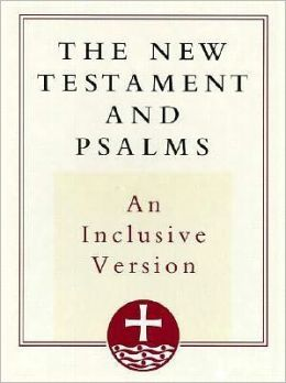 The New Testament and Psalms: Inclusive Version, burgundy bonded leather