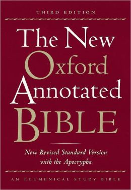 New Oxford Annotated Bible with the Apocrypha, 3rd Edition: New Revised Standard Version (NRSV)