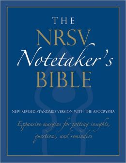 The NRSV Notetaker's Bible 9850A