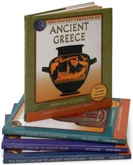 British Museum Pocket Timelines: Ancient Rome/Ancient Mesopotamia/Ancient Greece/Ancient Egypt (4 Volume Set)