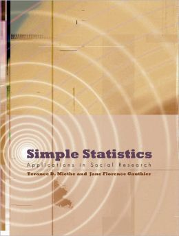 Simple Statistics: Applications in Social Research