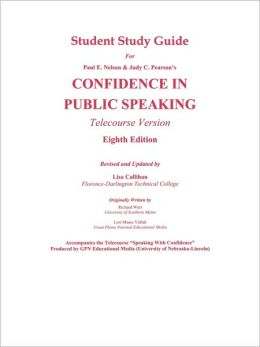 Confidence in Public Speaking - Study Guide