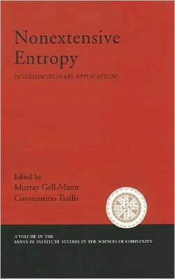 Nonextensive Entropy: Interdisciplinary Applications