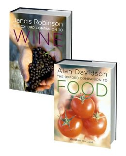 The Oxford Companion to Food and The Oxford Companion to Wine Set: 2-volume set