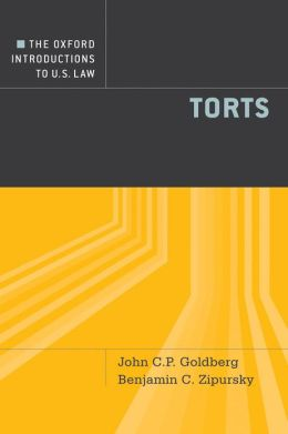 The Oxford Introductions to U.S. Law: Torts