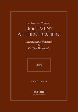 Practical Guide to Document Authentication 2009