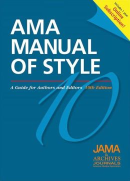 AMA Manual of Style: A Guide for Authors and Editors: Special Online Bundle Package