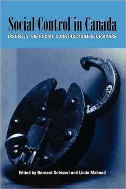 Social Control In Canada