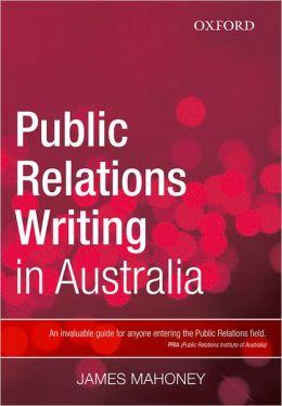Public Relations Writing in Australia