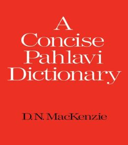 A Concise Pahlavi Dictionary