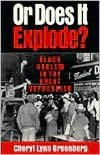 Or Does It Explode?: Black Harlem in the Great Depression
