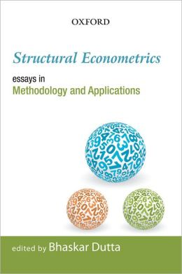 Structural Econometrics: Essays in Methodology and Applications