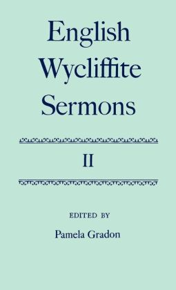 English Wycliffite Sermons