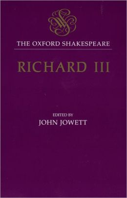 Richard III (Oxford Shakespeare Series)