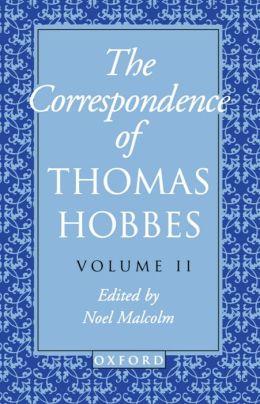 The Thomas Hobbes: The Correspondence