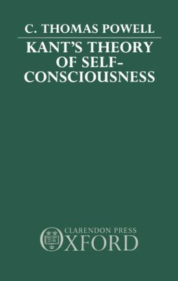 Kant's Theory of Self-Consciousness