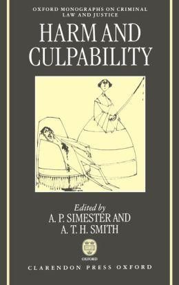 Harms and Culpability