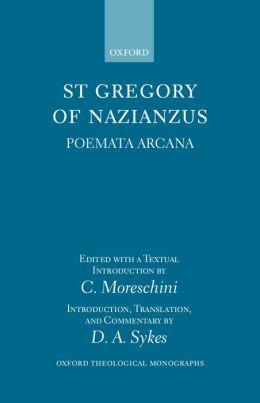 St. Gregory of Nazianzus Poemeta Arcana