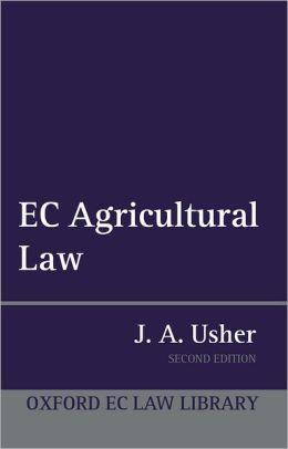 EC Agricultural Law