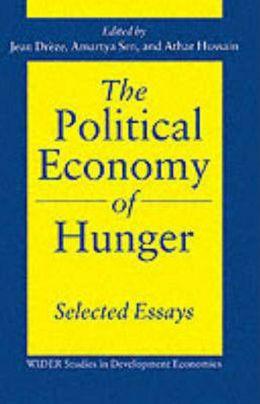The Political Economy of Hunger: Volume 3: Endemic Hunger