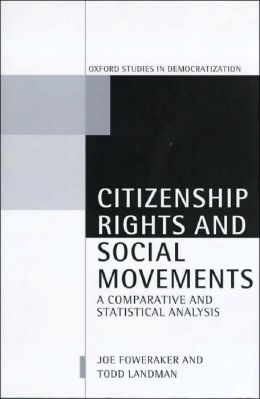 Citizenship Rights and Social Movements: A Comparative and Statistical Analysis