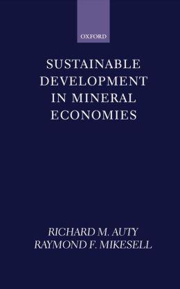 Sustainable Development in Mineral Economies