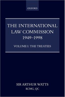 The International Law Commission, 1949-1998: The Treaties