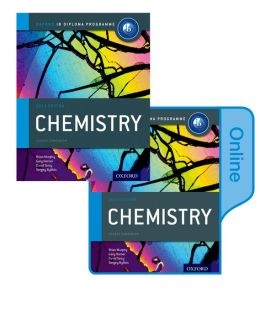 IB Chemistry Print and Online Course Book Pack 2014 edition: Oxford IB Diploma Program