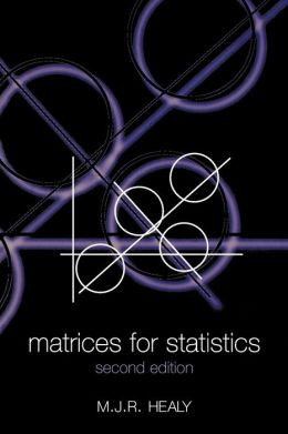 Matrices for Statistics
