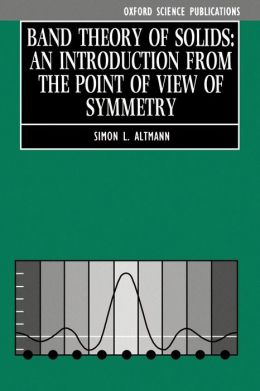 Band Theory of Solids: An Introduction from the Point of View of Symmetry