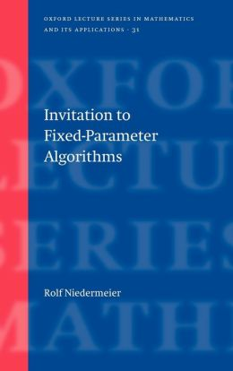 Invitation to Fixed Parameter Algorithms