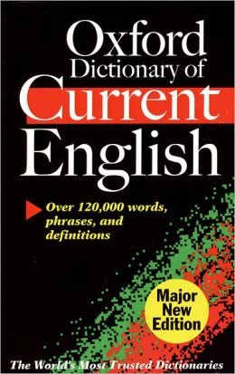 Oxford Dictionary of Current English