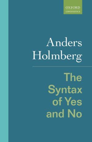 The Syntax of Yes and No