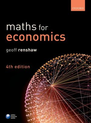 MATHS FOR ECONOMICS 4E