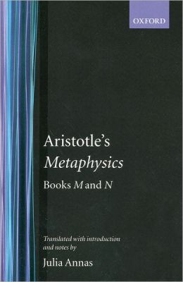 Aristotle's Metaphysics Books M and N
