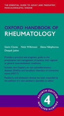 Oxford Handbook of Rheumatology 4e