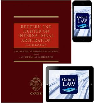 Redfern and Hunter on International Arbitration (Hardcover, eBook, and iOS App)