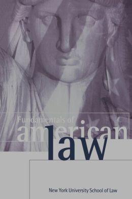Fundamentals of American Law