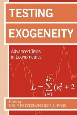 Testing Exogeneity