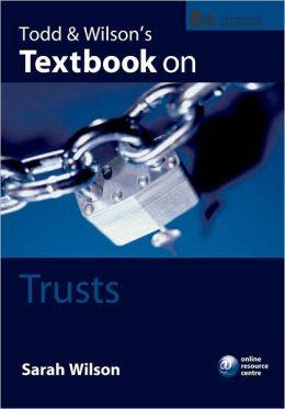 Todd & Wilson's Textbook on Trusts