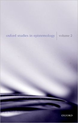 Oxford Studies in Epistemology