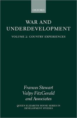 War and Underdevelopment: Country Experiences