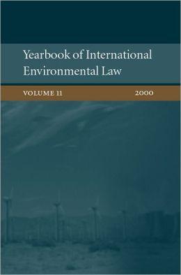 Yearbook of International Environmental Law: Volume 11: 2000