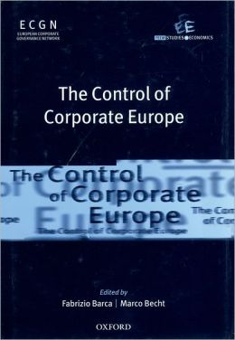 Control of Corporate Europe