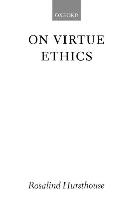 On Virtue Ethics