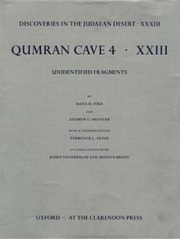 Qumrân Cave 4: Unidentified Fragments