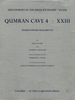 Qumrân Cave 4: Unidentified Fragments