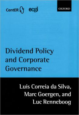 Dividend Policy and Corporate Governance
