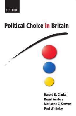 Political Choice in Britain