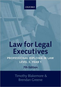 Professional Diploma in Law